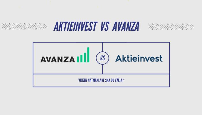 Avanza vs Aktieinvest
