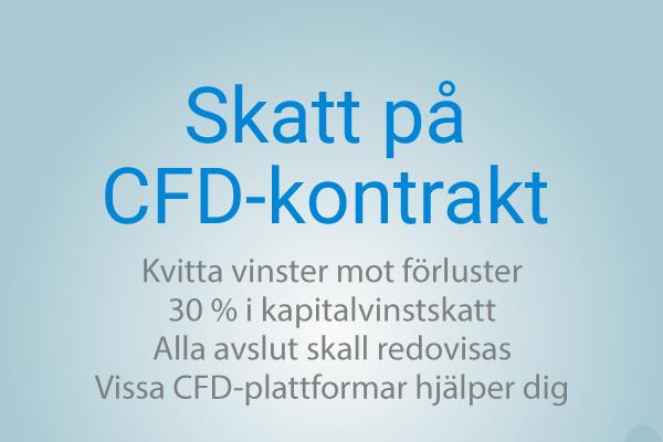 Skatt på CFD handel