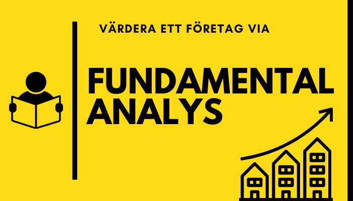 fundamental analys - värdering av företag