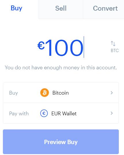 köpa och sälja på coinbase