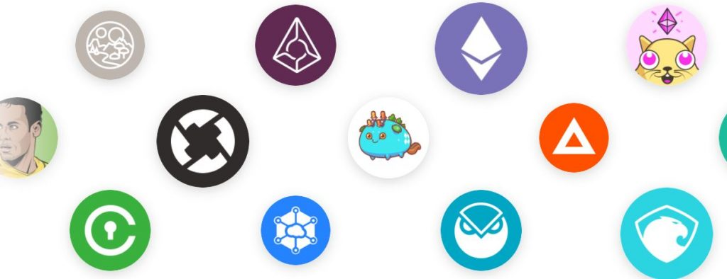 olika kryptovalutor på coinbase
