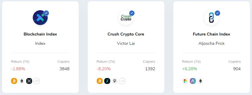 iconomi kryptoindex