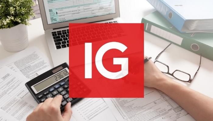ISK konto & kapitalförsäkring hos IG markets