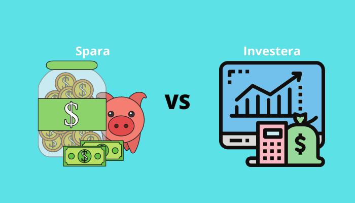 Spara eller investera