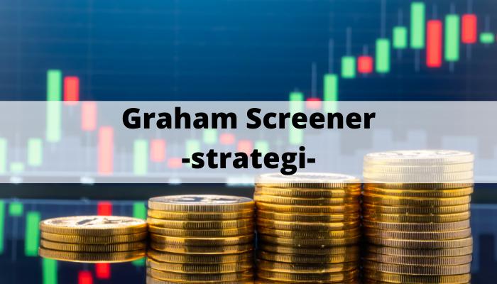 Graham Screener -strategi-