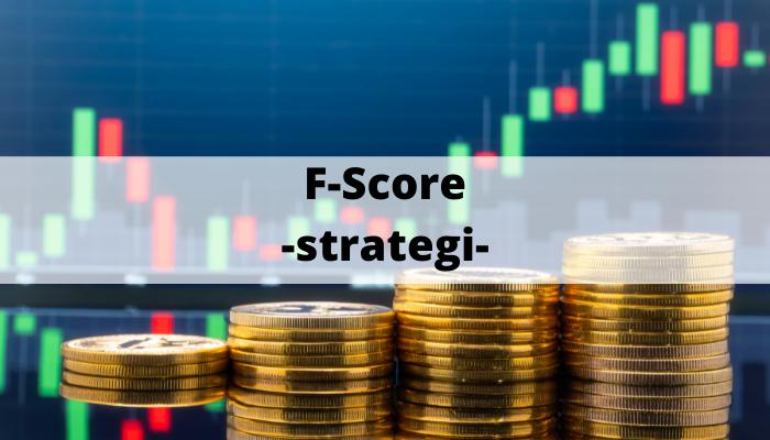 F-score -strategi-