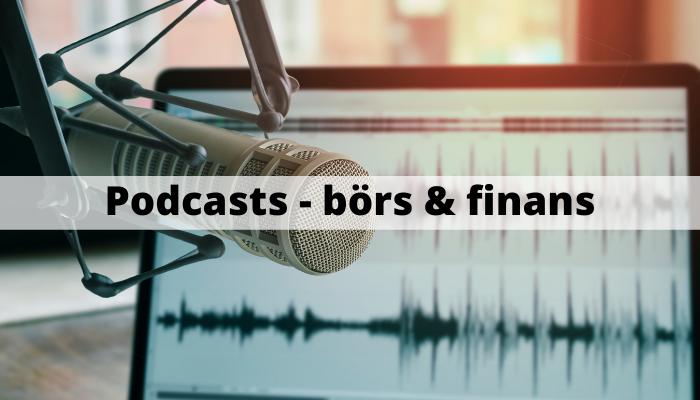 Bästa podcasts - börs & finans - lista