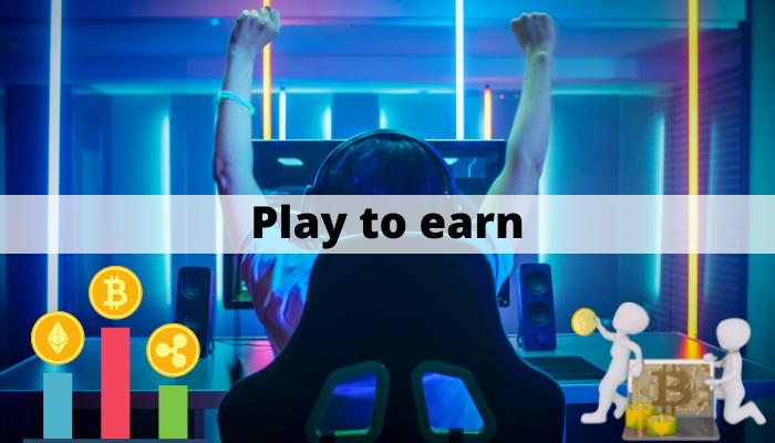 Play to earn - kryptovalutor