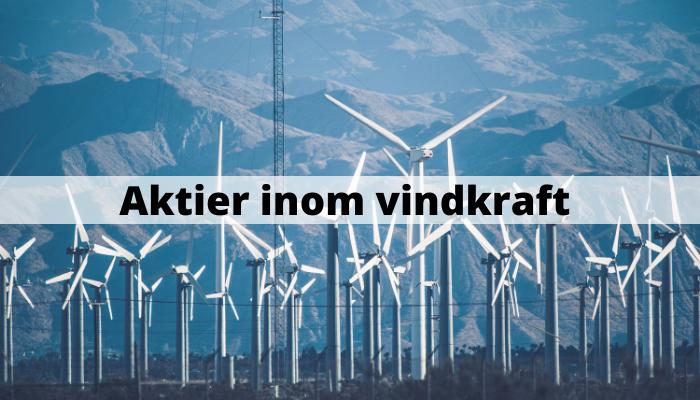 Aktier inom vindkraft